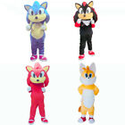 2017 Sonic the Hedgehog Mascot Costume Outfit Adult Size Suit for Advertising