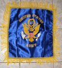 NOS United States ARMY Satin Pillow Case Cover Vtg Military NEW 1940s or 50s