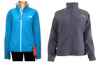 THE NORTH FACE Women Caroleena Soft Shell Windproof Jacket Blue XL Full Zip NEW