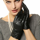 Traditional Women's WinterTouchscreen Leather Gloves L074NZ1