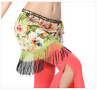 New Arrival 2015 Belly Dancing Costume Fringes Hip Scarf Belts Wrap Prints
