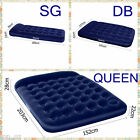 New Inflatable Air Mattress Bed w/ Built-in Foot Pump & Pillow