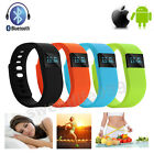 TW64 Bluetooth Smart Watch Smartband Wristband Pedometer For Android IOS UK NEW!
