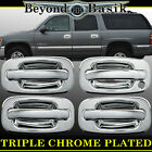 1999-2006 CHEVY SILVERADO/GMC SIERRA Chrome Door Handle Cover WithOut Psgr Key