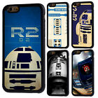 Star Wars R2D2 Robot Rubber Back Phone Case For iPhone 5 6/6s 7 8 X Plus Cover