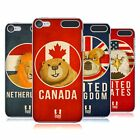 HEAD CASE DESIGNS PATRIOTIC ANIMALS HARD BACK CASE FOR APPLE iPOD TOUCH MP3