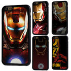 Iron Man The Avengers Phone Rubber Case For iPhone 4/4s 5/5s 5c 6/6s 7 8 X Plus