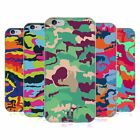 HEAD CASE DESIGNS COLOURFUL CAMOUFLAGE SOFT GEL CASE FOR APPLE iPHONE PHONES