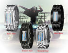 A CLASS LUXURY Cool Day Date Digital titanium Stainless Steel Men's Wrist watch