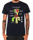 Official Mojang Jinx Minecraft Creeper Anatomy Men's T-Shirt $12.99 USD