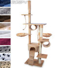 Cat Kitten Scratching Post Tree Sisal Climbing Excercise Activity Centre 230cm