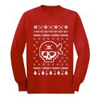 Pirates Ugly Christmas Sweater - Xmas Cool Unisex Long sleeve kids T-Shirt Gift