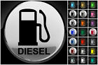 Diesel Fuel Only Wall Sticker Laptop Car Fuel Cap Cover MultiUse 21 Colours