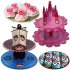 KIDS CUPCAKE STAND PIRATE PRINCESS BOYS GIRLS FANCY FAIRY CAKE BIRTHDAY PARTY
