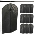 Garment Bags Set of 10 Clothes Dress Suits Storage Travel Cover Coat Size Choice