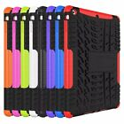 Dual Layer Heavy duty Shockproof Tough Case For iPad Air 1 2 iPad mini1 2 3 4