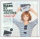 Japan magazine gift Marc Jacobs BLACK cell phone i pad mini case pouch sleeves