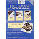 Tracedown Transfer Paper Wax Free A4 5 Pack - 5 Colours available