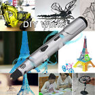 3D Printer Pen 3D StereoCraft Drawing Pen Nozzle Extruder Christmas Gifts