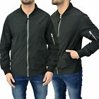 Mens Designer Bellfield Heritage Jacket Virtual Bomber Zip Thru Varsity Coat Top