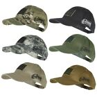 Voodoo Tactical 20-9353 Contractor Baseball Cap w/ Sewn on Flag Patch