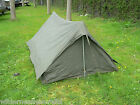 Austrian Army Tent 2 Man Nylon Base Cotton Top Vented Hunting Camping Fishing