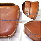 Generic Mans Handmade Genuine Leather Case Box Bag For In Ear Headphone Earbuds
