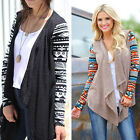 New Womens Ladies Casual Long Sleeve Loose Tops Blouse Cardigan Knitwear T-shirt