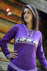 Metis Hooded Sweater Etchiboy Bisons Violet Purple Alpaca Wool Bell Shape XS-XL