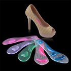 NE Gel Pad Arch Metatarsal Support Massage Insoles For High-Heels Sandal Shoes