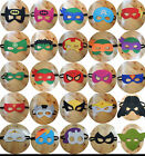 SUPERHERO AVENGERS DRESS FACE COSTUME MASK KIDS CHILDS BIRTHDAY PRETEND PARTY