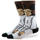 STANCE NEW Men's Star Wars Socks Princess Leia White BNWT