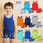 "Vaenait Baby Clothes Toddler Boy Underwear Undershirt Boxer Set ""Days set"" 2T-8T"
