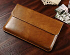 "Genuine Leather Bag Pouch Sleeve Case Cover for 11"" 13"" New Apple MacBook Air"