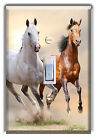 Light Switch Plate Cover - Wild Horses - Country Western Home Decor