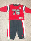 NEW TAMPA BAY BUCCANEERS SWEAT SUIT SET INFANT BABY FALL WINTER CLOTHES