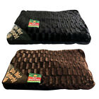 LARGE LUXURY FUR DOG CAT PET BED MATTRESS WASHABLE PILLOW CUSHION SOFT WARM BED