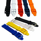 Resin Watch Strap Band to fit Standard Swatch Watch 17mm choice of colours D027 image