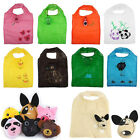 Women Cute Animal Reusable Eco Storage Grocery Bags Shopping Tote Folding Purse