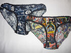 STAR WARS FABRIC KNICKERS/PANTS/BRIEFS SIZE 10/12/14/16/18/20 HANDMADE/THE FORCE $20.55 USD