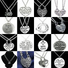 Charm Family Gift Personal Family Love Letter Engraved Pendant Choker Necklace N