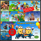BOYS & GIRLS PERSONALISED BIRTHDAY PARTY INVITATIONS PRINT YOUR OWN SERVICE