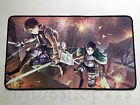 Attack on Titan YGO VG MTG CARDFIGHT Game Large Keyboard Mouse Pad Playmat #42