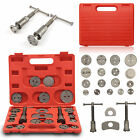 UNIVERSAL BRAKE CALIPER PISTON REWIND WIND BACK TOOL KIT 22 PIECE SET NEW