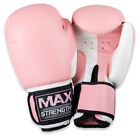Training Boxing Gloves Muay Thai Grappling Fight Punch Bag Sparring Kick Pad MMA
