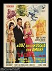 James Bond 007 - From Russia with Love 1963 Movie Poster Canvas Wall Art Print £50.0 GBP