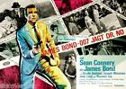 James Bond 007 Dr. No 1962 Movie Poster Canvas Wall Art Print Sean Connery Actor £16.0 GBP