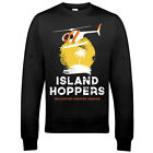 9100 TC's Island Hoppers Sweatshirt Magnum PI Helicopter Thomas Hawaii Military