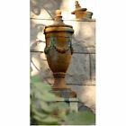 Outdoor Garden Finial of San Marino with Lid-Urn by Orlandi Statuary -FS34052