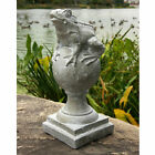 Garden Frog on Finial Outdoor Statue Sculpture by Orlandi Statuary FS8637